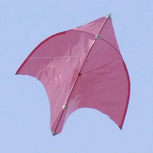 John rose 39 s borelli glider kite for Indoor kite design